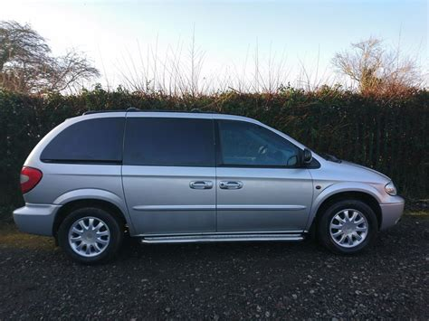 2003 03 reg chrysler voyager lx 2 5 diesel 5 speed manual wolverhton dudley