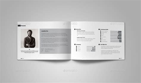 a5 graphic designer portfolio by vanroem graphicriver