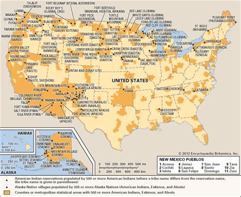 indian reservations in usa map reservation united states encyclopedia children
