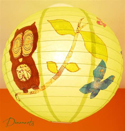 lustre papillon le suspension nature quot houhou le hibou quot enfant b 233 b 233