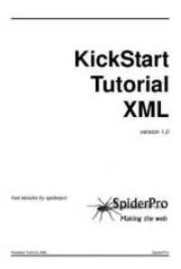 xml tutorial ebook free download kickstart tutorial xml by jan kherbeek free book download