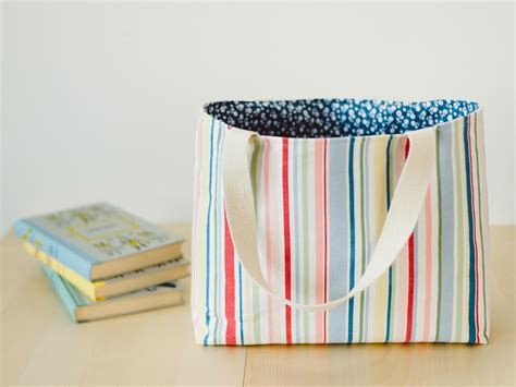 Design Of Handmade Bags - how to make a tote bag easy sew ideas for a custom bag hgtv
