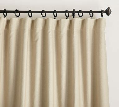 pottery barn linen drapes carson linen cotton drape potterybarn these are online