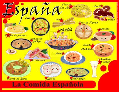 la comida de la la comida tipica de quot madre quot espa 241 a espagnole des tous petits comida espa 241 ola