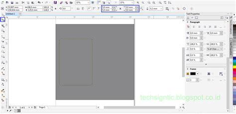 membuat id card dengan coreldraw x7 tutorial membuat id card modern vertikal menggunakan