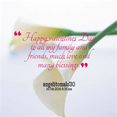 happy valentines day to friends and family happy valentines day friends quotes quotesgram