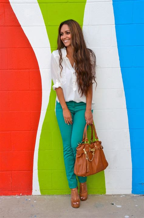 Fashion And Chocolate Womens Two by 30 Ways To Mix Turquoise Teal Work Clothes For