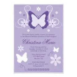 purple butterfly quinceanera invitations 5 quot x 7 quot invitation card zazzle
