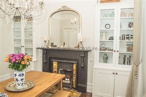 dining room cupboards bespoke alcove cupboards and shelving white willow furniture