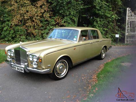 1970 rolls royce silver shadow 1 gold