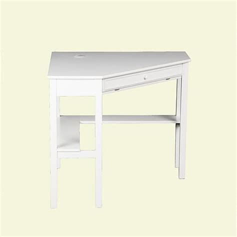 White Corner Computer Desks For Home Corner Computer Desk White 6221913 Hsn