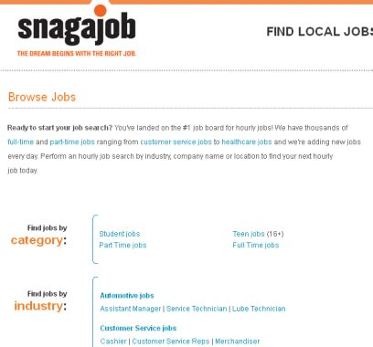 Snagajob Apply Resume