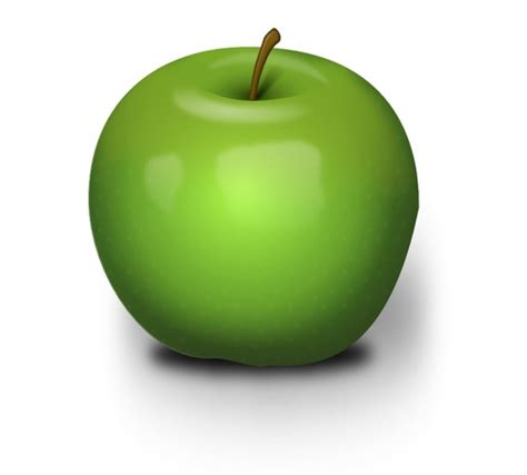 Apple Second green apple move out second guess