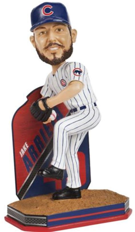bobblehead jake jake arrieta chicago cubs 2016 mlb name and number