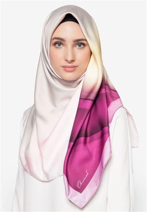 hijab tutorial pashmina wide shawl sifon simple tudung bawal premium exclusive aurora satin shawl italian