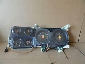 1973 87 chevy truck instrument cluster speedometer bezel