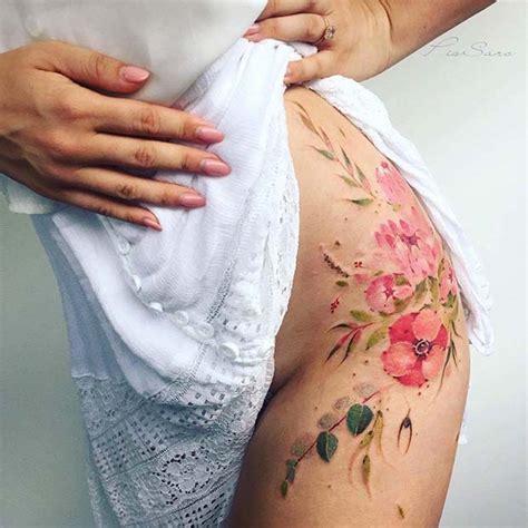 watercolor tattoos hip 13 trendy hip tattoos ideas crazyforus