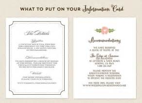 wedding details card exles 25 best ideas about accommodations card on my wedding website wedding