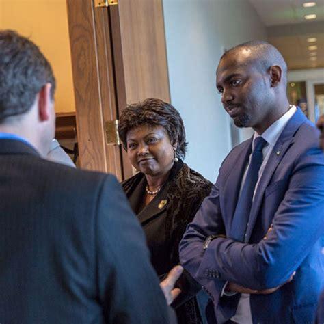 Iupui Health Care Mba by Rwanda S Ambassador To The United States Visited