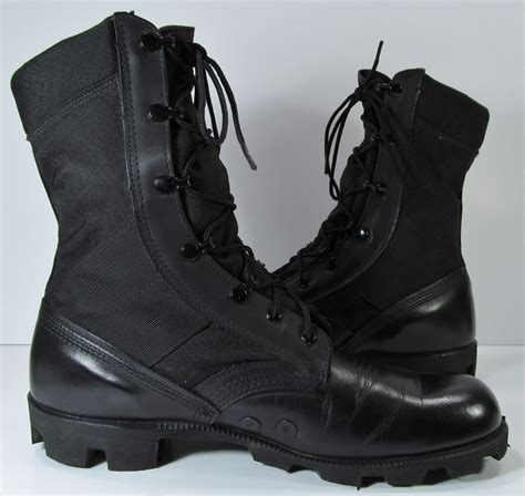 mens combat boots vintage combat boots mens 10 d r black leather