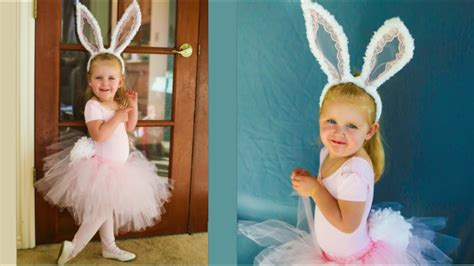 cute easter bunny costume  sew tutorial youtube