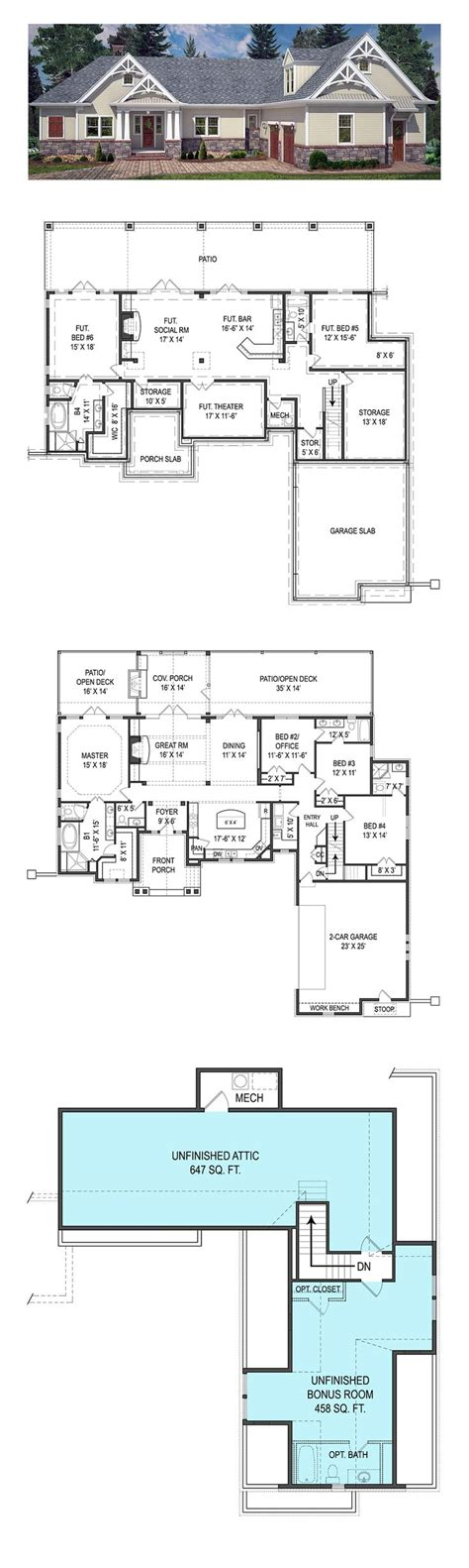 basement house plans house plans walkout basements home plans with basements