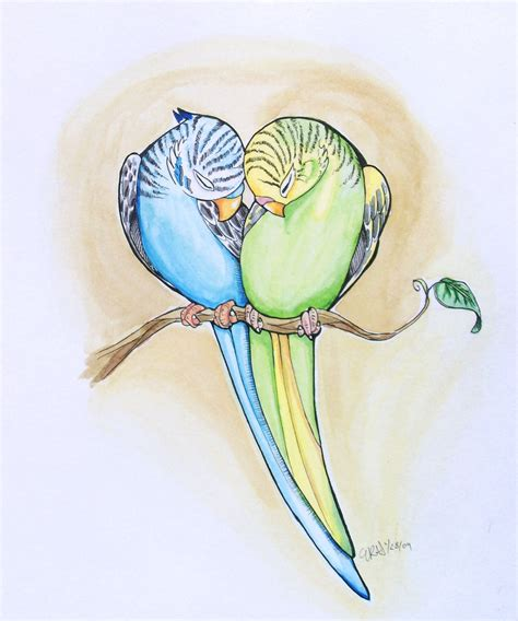 parakeet heart by sophiedragon on deviantart