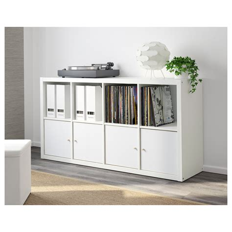 kallax shelving unit white 77x147 cm ikea