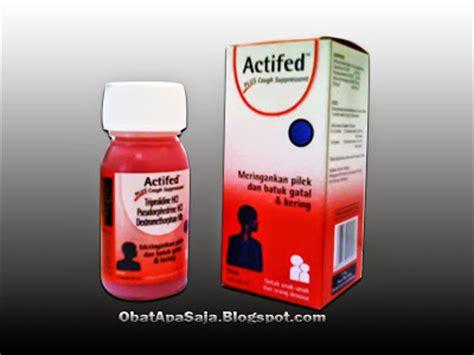 Obat Actifed actifed plus cough suppressant meringankan pilek batuk