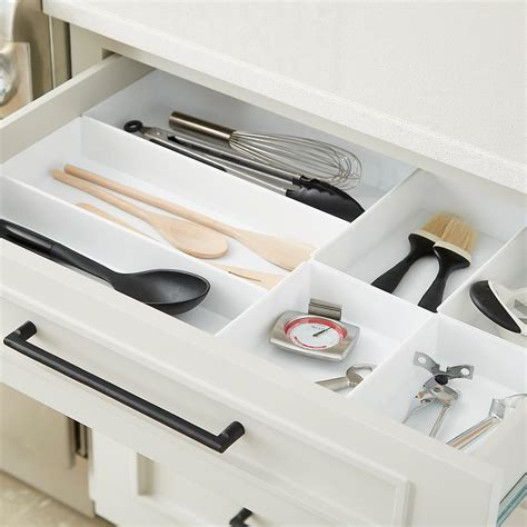 rubbermaid interlocking drawer organizers starter kit