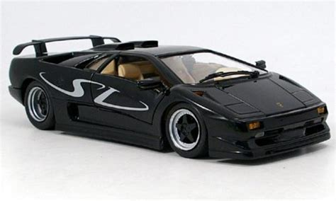 Lamborghini Diablo Model Car by Lamborghini Diablo Sv Black Maisto Diecast Model Car 1 18