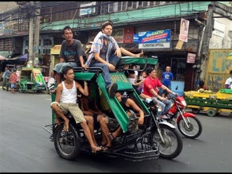 philippine tricycle fun tricycle ride thru back streets of cebu philippines