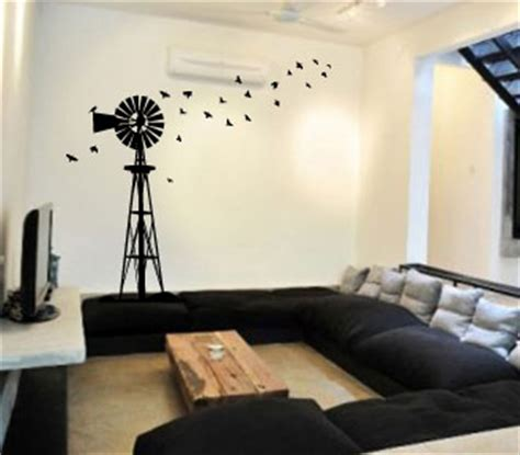 Nursery Decor South Africa Wall Decals South Windpump Windpomp Wall Sticker Decal Vinyl Interior Decor