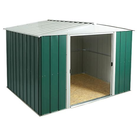 10 X 8 Shed Floor - rowlinson metal apex shed with floor 10 x 8 ft wickes
