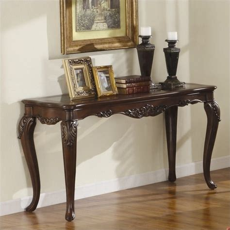 Cherry Console Table Features