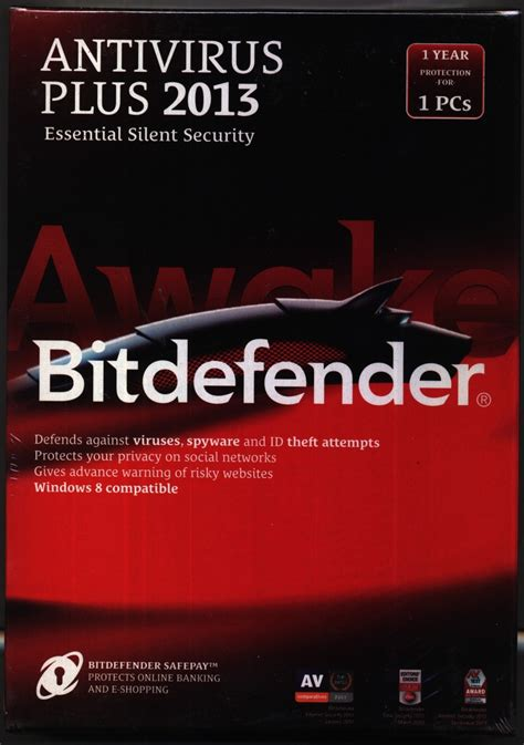 Bitdefender Anti Virus Plus 1pc 1 Year Original bitdefender antivirus plus 2013 1 pc 1 year buy 1 license get 1 free and 1 year free mobile