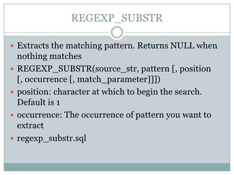 pattern matching empty string regular expressions in oracle