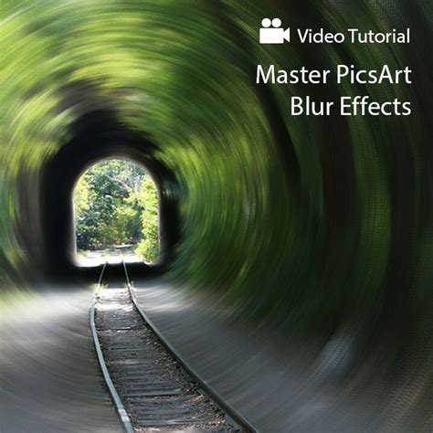 tutorial picsart blur how to use picsart blur effects