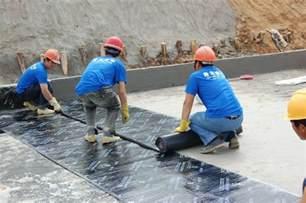 waterproofing using membranes types of waterproofing