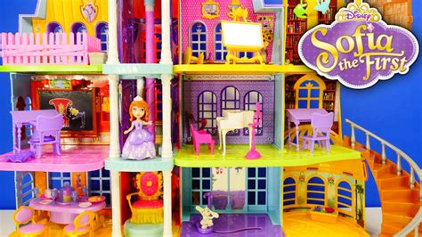 disney princess doll houses new disney princess giant doll house sofia the first magical royal castle prep academy