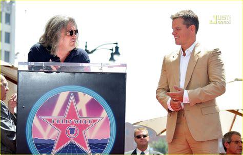 Matt Damon Gets His Walk Of Fame by Matt Damon Gets Walk Of Fame Photo 505811