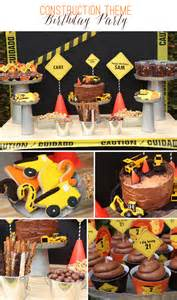 Construction theme birthday party the celebration shoppe