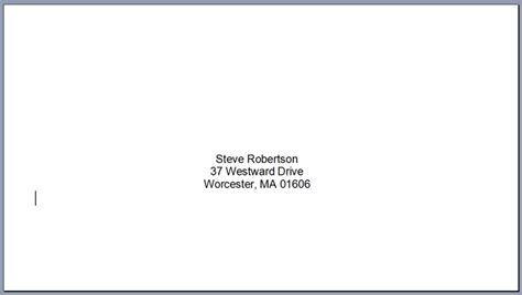 print envelopes using microsoft word mail merge lci paper