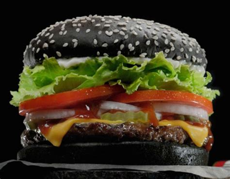 Burger Stool by Burger King S Black Burger Is Reportedly Turning People S Green Nsfw Sick Chirpse