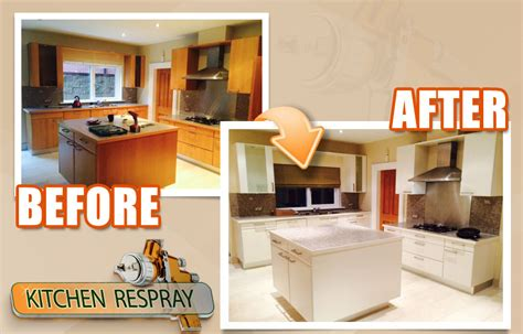 how much does it cost to respray kitchen cabinets respray kitchens painting kitchens
