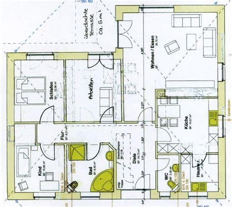 4 Zimmer Bungalow Grundrisse by Grundriss Bungalow 4 Zimmer Emphit
