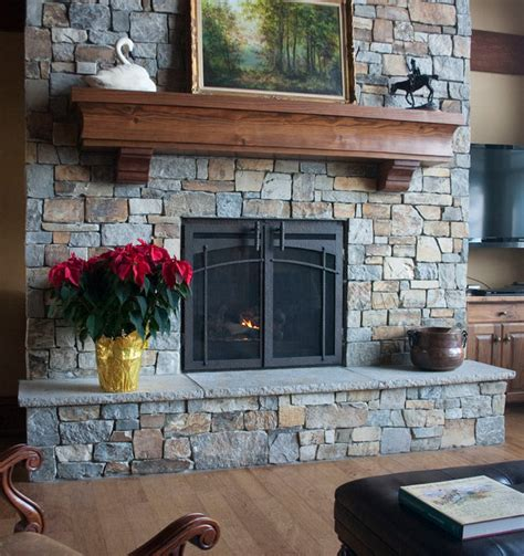 custom fireplace door craftsman indoor fireplaces