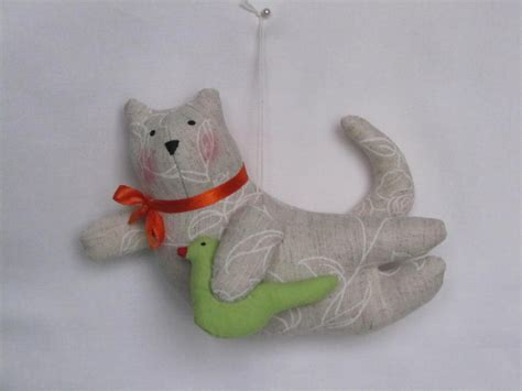 Handmade Cat Toys - handsome handmade flying cats handmade tilda cat toys