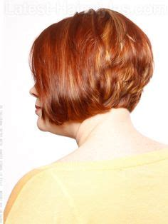 high stacked layered bob hair cut stacked bob hairstyles back view style them fabulous