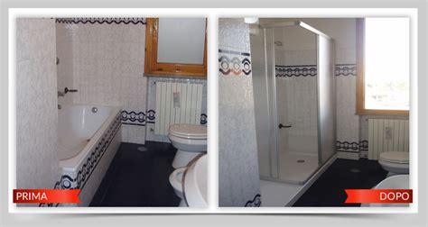 cambiare vasca da bagno senza togliere vecchia sostituire vasca con doccia cambio vasca in doccia